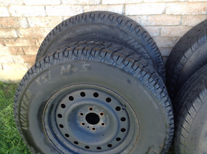 wheels/tires fit  2001 - 2003 Durango/Dakota