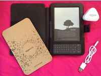 Amazon kindle d00901. Includes charger and protective case. Excellent condition.