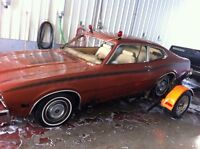 Parting out 76 comet GT