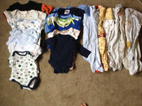 0-3m baby boy clothes in GUC