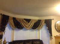 Window valances for sale
