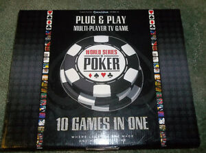 WORLD SERIES OF POKER PLUG & PLAY MULTI-PLAYER TV GAME