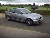 2004 BMW 318i SE grey motd may 17 good condition inside and out 3 keys