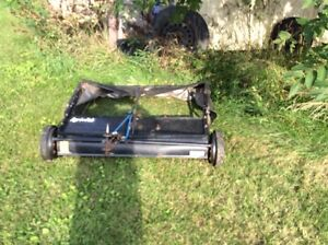 Yard equipment for lawn and garden tractor