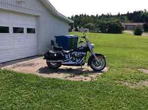 Harley Davidson softail héritage 2012