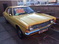 1973 Mk3 Ford Cortina 1600 L