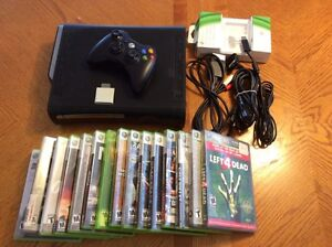 Xbox 360-15 games-memory-charge kit