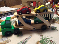 Melissa and Doug Truck and Car Trailer