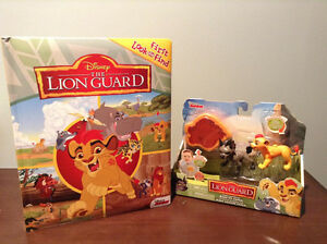 """LION GUARD"" LOOK AND FIND BOARDBOOK AND TOY......BRAND NEW!"