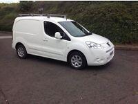 2011 Peugeot partner 1.6 HDI 850 S White motd November 16 side loading door