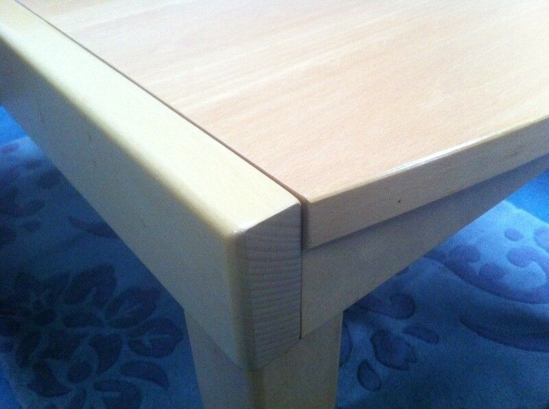 Solid Beech Tambour Dining Table