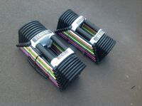 Powerblock adjustable dumbells