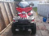 POLARIS SPORTSMEN 500cc 4X4 120 KM
