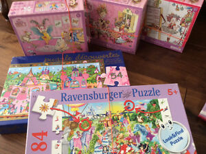 Puzzles-5 Fancy Nancy, Look&Find&Discovery London Ontario image 1