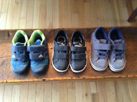 Boys size 8-81/2 shoe lot