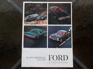 1964 Ford dealer showroom catalog