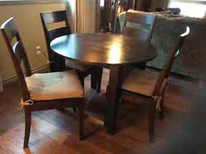 Crate and Barrell Dining Set