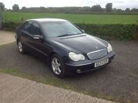 2004 Mercedes C180 kompressor Avantgarde automatic blue full mot