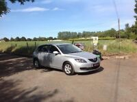 24/7 Trade Sales NI Trade Prices for the Public 2008 Mazda 3 1.6 TS Diesel Silver Full mot