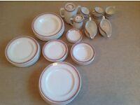 Ridgway Potteries Vitrock Dinnerware set for six
