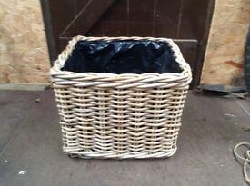 Lovely Log Basket.