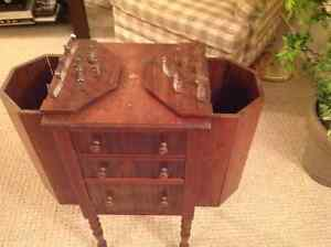 Antique Knitting/Sewing cabinet London Ontario image 2