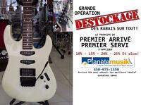 Opération *DESTOCKAGE* Guitare usagée B.C.RICH U.S.A Platinum!