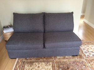 Armless Decorest loveseat