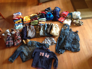 Boys size 3t clothes, as a lot