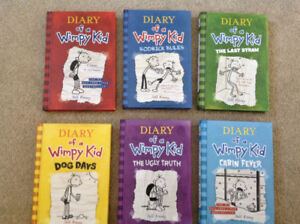 Diary of a Wimpy kid hardcover 1-6