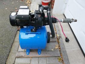 pompe avec reservoir