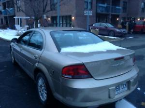 Chrysler sebring  2004 VENDU