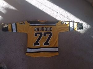 Autographed brand new replica Ray bourque jersey for sale/trade