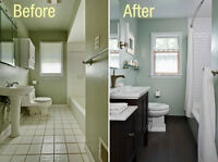Electrical plumbing tiling flooring handyman kitchen renovations