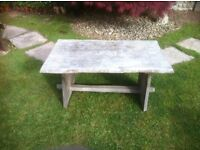 Old Rustic Table