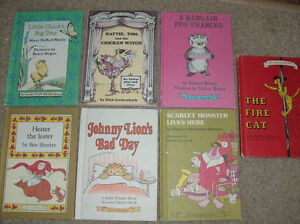 "7 Hard Cover ""I Can Read"" Books Harper & Row-1970's/1960"