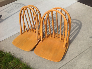CHAIRS WITH BACKREST for fishing boat, race track bleachers, etc