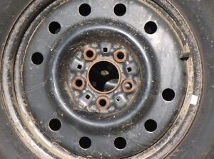 SOLD - 4 Winter Tires on 15 inch rims - reduced price Strathcona County Edmonton Area image 2