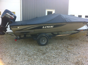 Lowe 180 Stinger Bass boat 115 hp rarely used