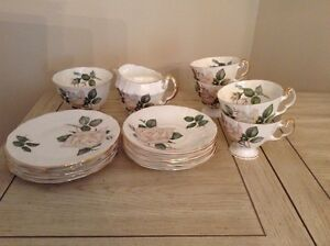 Vintage Adderley Bone China Tea Set - Pour Toi