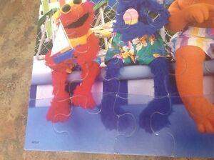 Ancien Casse-tête Elmo Sesame Street Muppets Saguenay Saguenay-Lac-Saint-Jean image 5