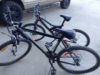 2 bikes great deal text 587-589-0468