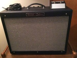 Fender Hot Rod Deluxe 40w 1X12, Foot Switch & Cover