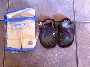 Robeez Slippers Leather 18-24