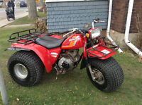 For sale is my 1984 200M 3 wheeler