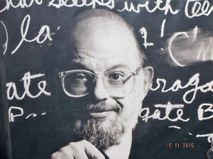 ALLEN GINSBERG...BOOK, AND ALBUM