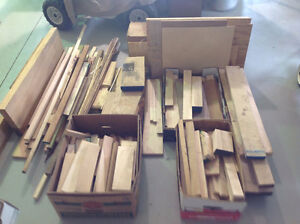 Hardwood pieces for small wood projects