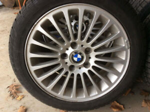 BMW Rims with winter tires