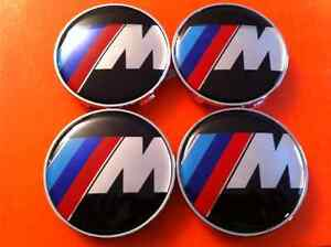 BMW M Series Center Wheel Cap - 68mm - set of 4 - New Never Used Kitchener / Waterloo Kitchener Area image 1