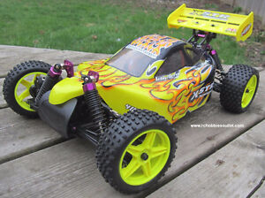 New RC Buggy/ Car 1/10 scale, Electric 4WD 2.4G  RTR